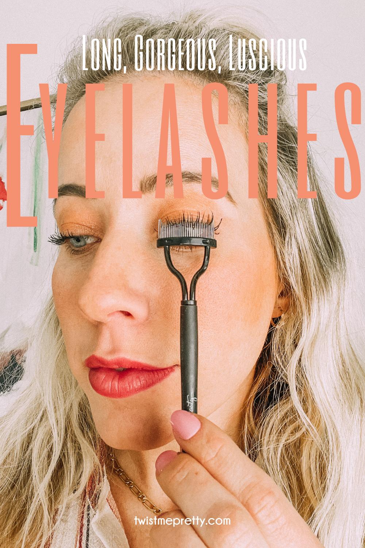 Long, luscious eyelashes with Bloom growth serum twistmepretty.com