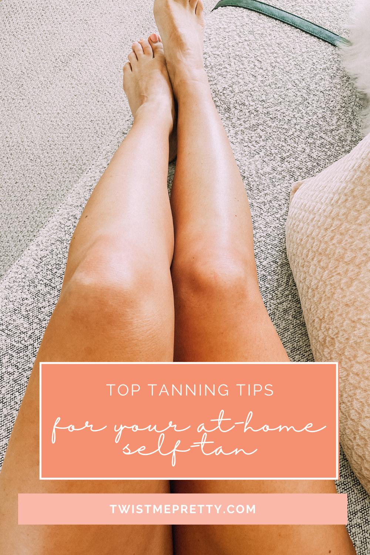 self-tanning for beginners. www.twistmepretty.com