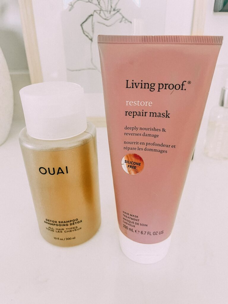 Hair Repair Mask and Detox Shampoo. www.twistmepretty.com