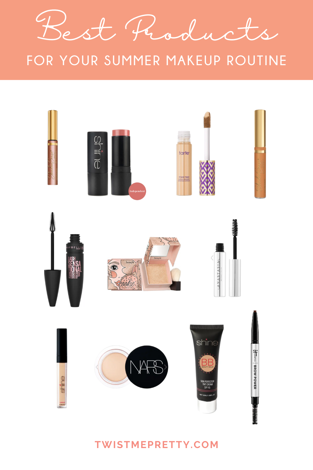 makeup products that will give you a natural glow you'll love. www.twistmepretty.com