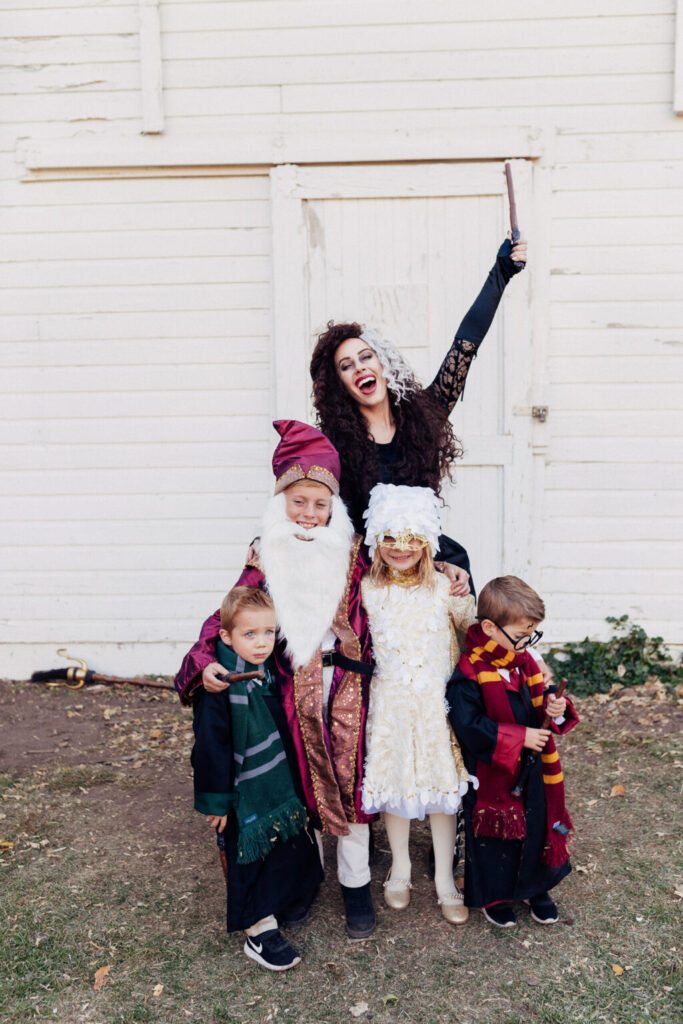 how to make harry potter halloween costumes. www.twistmepretty.com