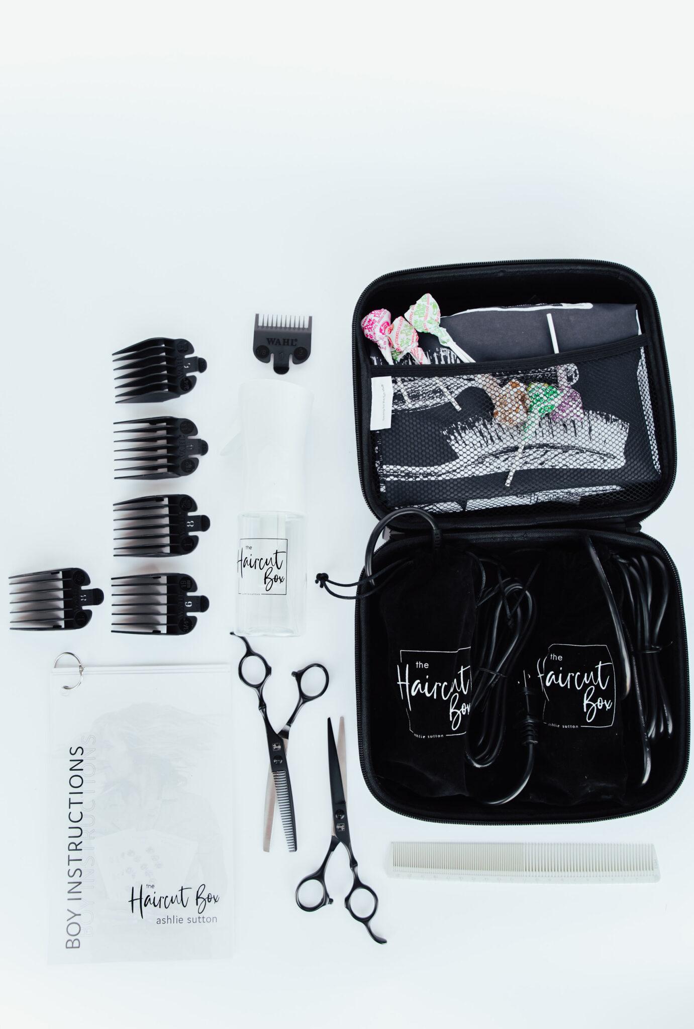 las mejores herramientas para cortar el cabello de su propia familia.  www.twistmepretty.com