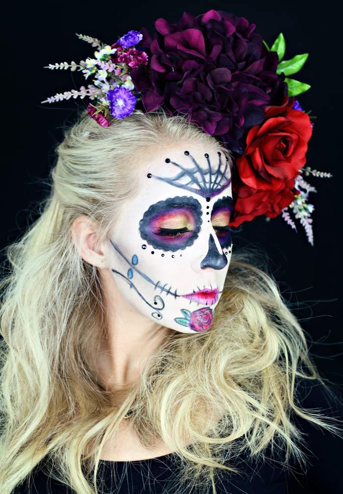 Maquillaje y disfraces fáciles de Halloween que puedes hacer en casa.  www.twistmepretty.com