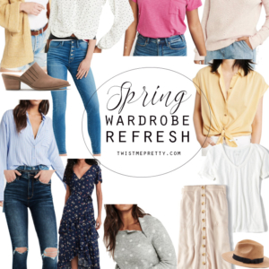 How to refresh your wardrobe for spring